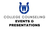 WHS College Counseling Presentations & Events